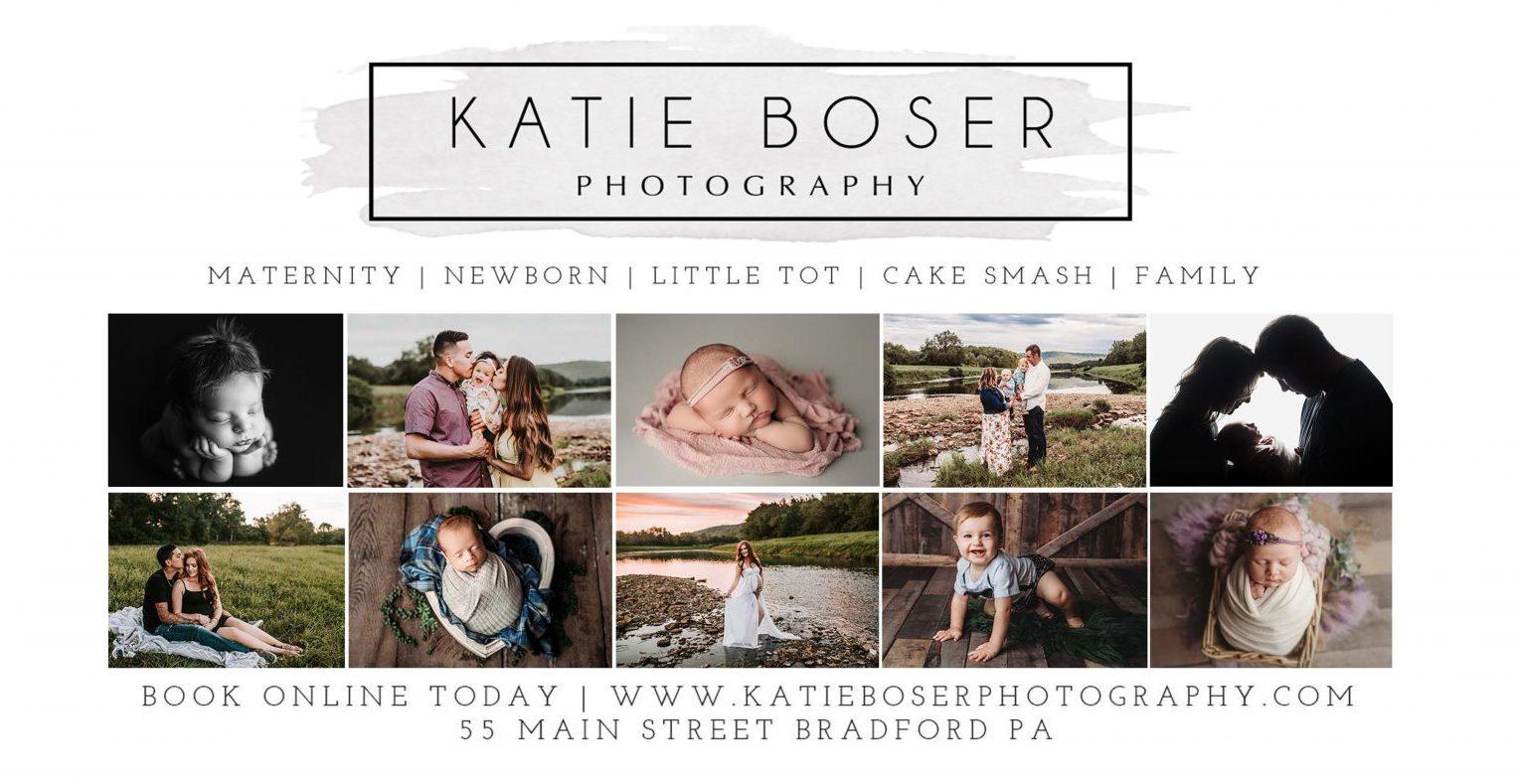 Katie Boser Photography | 55 Main Street BRADFORD PA